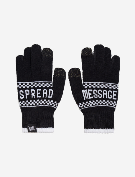 STM GLOVE - BLACK brownbreath