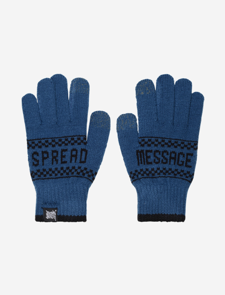 STM GLOVE - BLUE brownbreath