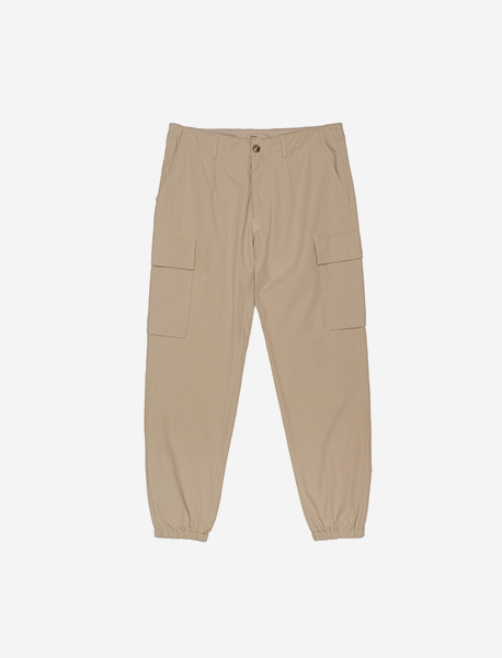 NGRD JOGGER PANTS - BEIGE brownbreath