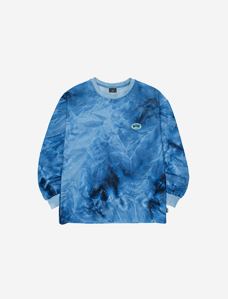 REST LONGSLEEVE - BLUE brownbreath