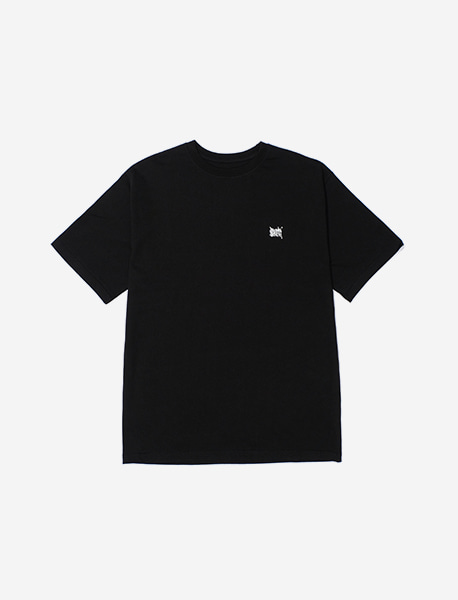 TAG WAVE TEE - BLACK brownbreath