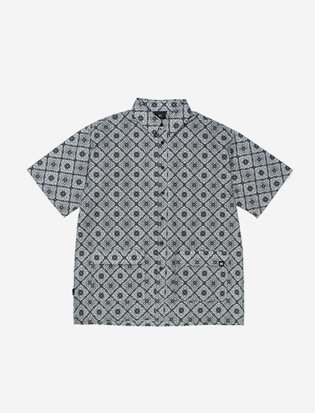 TAG PAISLEY SHIRTS - BLACK brownbreath