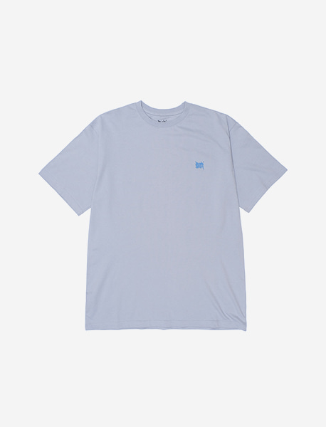 TAG RB TEE - LIGHT BLUE brownbreath