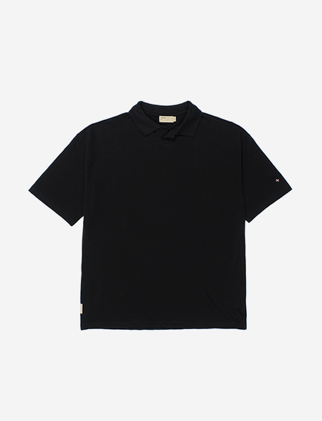 NGRD PIQUE SHIRTS - BLACK brownbreath