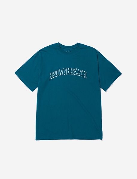 BB TYPE TEE - BLUE GREEN brownbreath