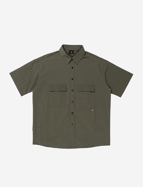 NGRD POCKET SHIRTS - KHAKI brownbreath