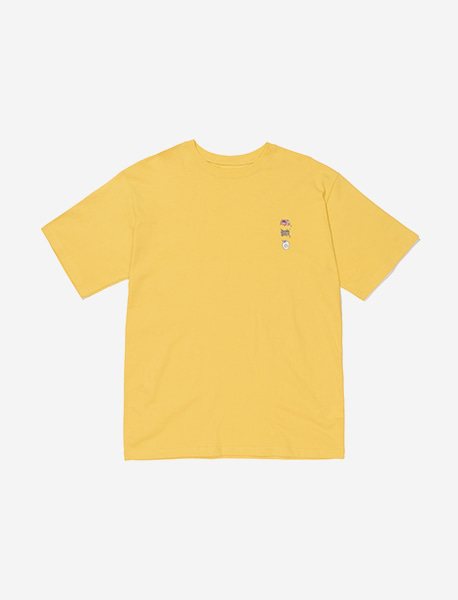 BXC CAMPING TEE - YELLOW brownbreath