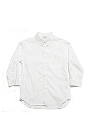 1/7 OXFORD SHIRTS - WHITE brownbreath