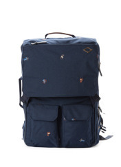 A.T.C.E TRAVEL MG - NAVY(EMBO) brownbreath