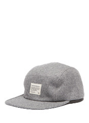 SPEAK WOOL CAP MG - GREY brownbreath