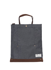 DELIVER BAG - DENIM brownbreath