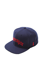 MESSENGER CAP - NAVY brownbreath