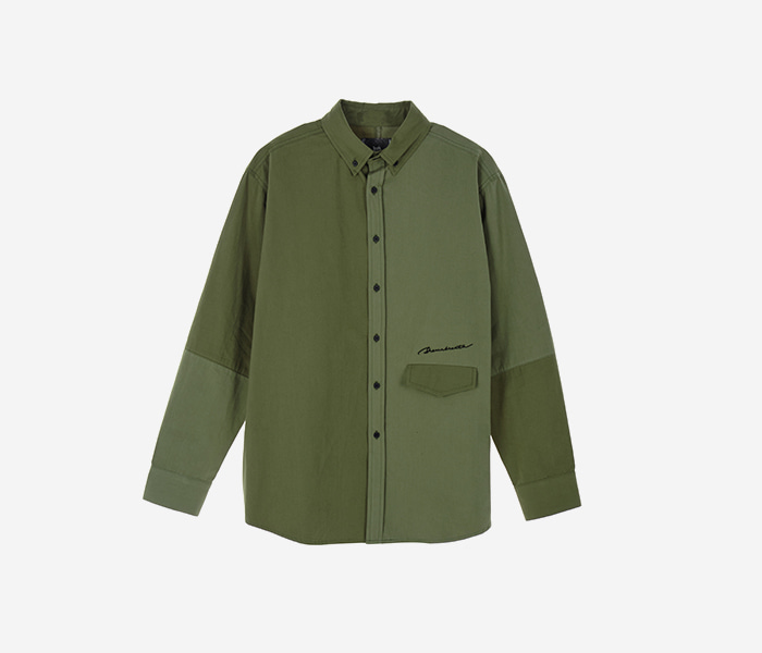 SIGNATURE BLOCK SHIRTS - KHAKI brownbreath