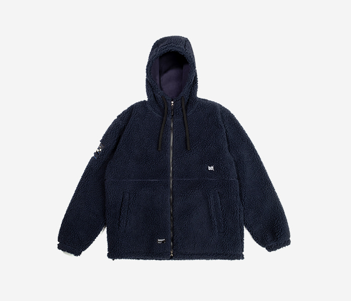 BB BOA FLEECE JACKET - NAVY brownbreath