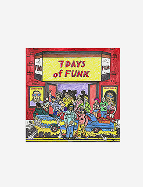 7 DAYS OF FUNK / 7 DAYS OF FUNK brownbreath