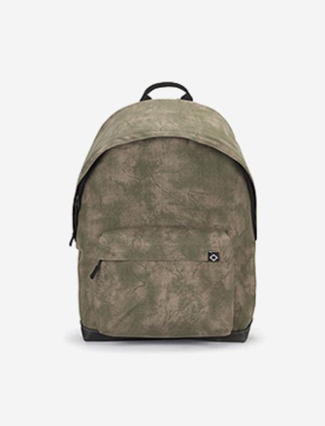 N020 BASIS DAYBAG - PRINTING KHAKI brownbreath