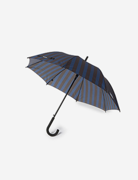 STM STRIPE UMBRELLA brownbreath