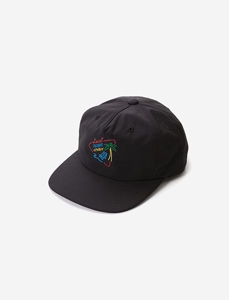 LBC NEON 5 PANNEL CAP - BLACK brownbreath