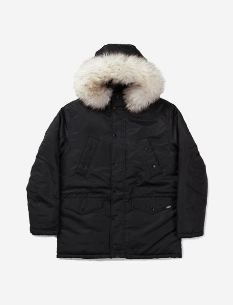 WILL PARKA - BLACK brownbreath