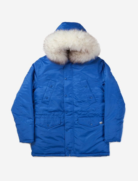 WILL PARKA - BLUE brownbreath