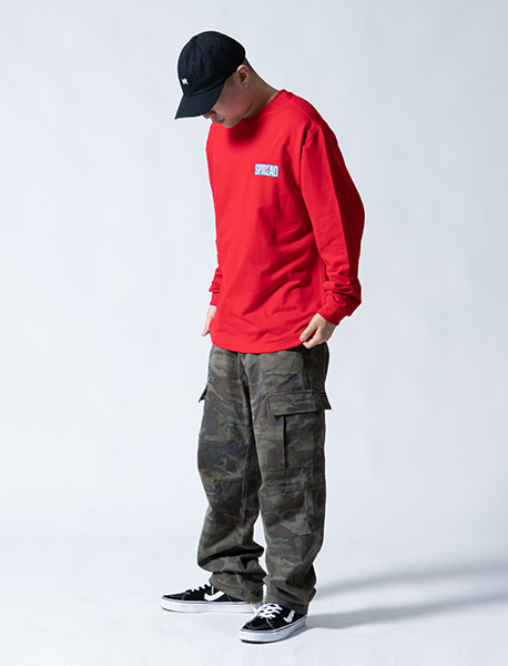 STM CARGO PANTS - CAMO brownbreath