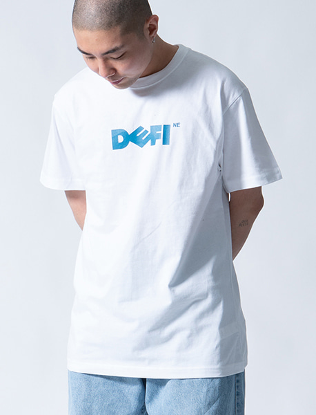 DEFINE TEE - WHITE brownbreath