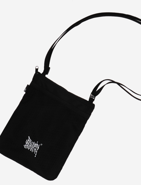 OFF ROUTE PASS POUCH - BLACK brownbreath