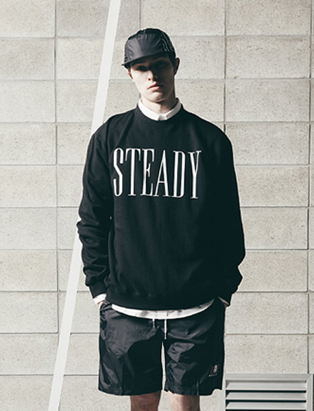 PACE CREWNECK - BLACK brownbreath