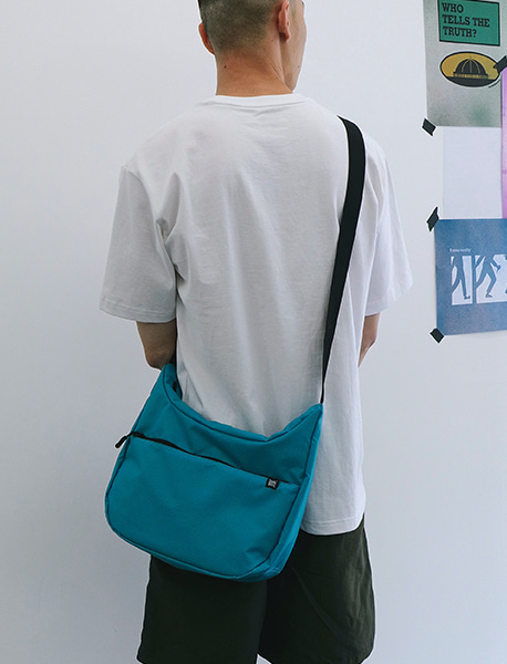 STIN CROSS BAG - BLUE/GREEN brownbreath