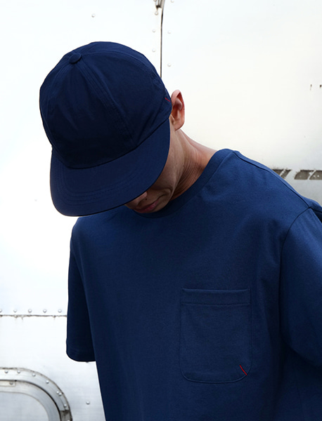 NGRD CAP - NAVY brownbreath