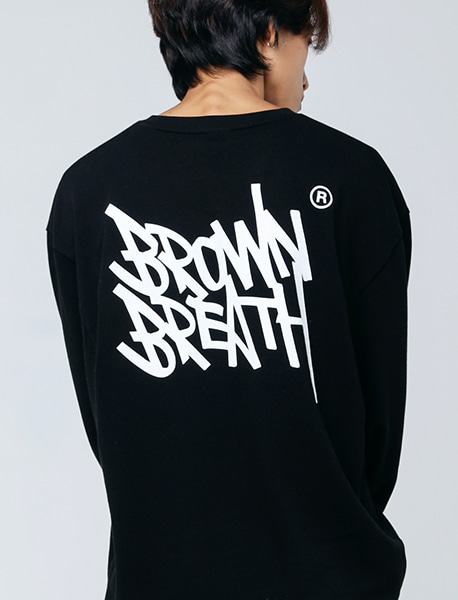 TAG 20 LONG SLEEVE - BLACK brownbreath