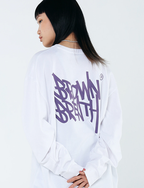 TAG 20 LONG SLEEVE - WHITE brownbreath